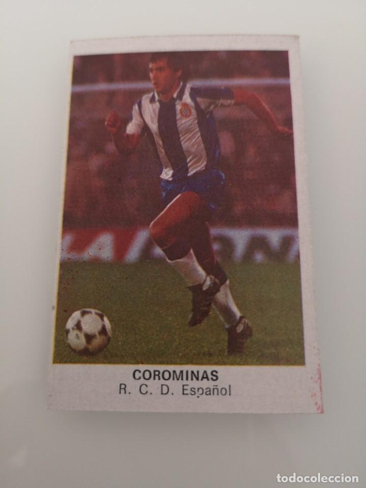COROMINAS ESPAÑOL LIGA 1983 1984 CANO CROPAN SIN PEGAR (Coleccionismo Deportivo - Álbumes y Cromos de Deportes - Cromos de Fútbol)