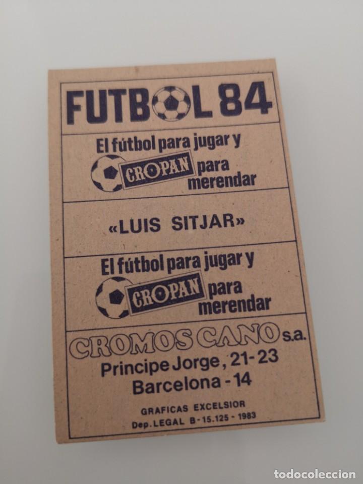 Cromos de Fútbol: MALLORCA ESTADIO LUÍS SITJAR LIGA 1983 1984 EDICIONES CANO CROPAN SIN PEGAR - Foto 2 - 168025080
