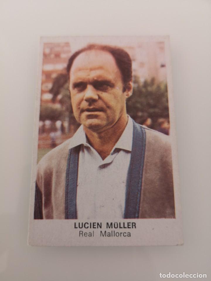 LUCIEN MULLER MALLORCA LIGA 1983 1984 CANO CROPAN SIN PEGAR (Coleccionismo Deportivo - Álbumes y Cromos de Deportes - Cromos de Fútbol)