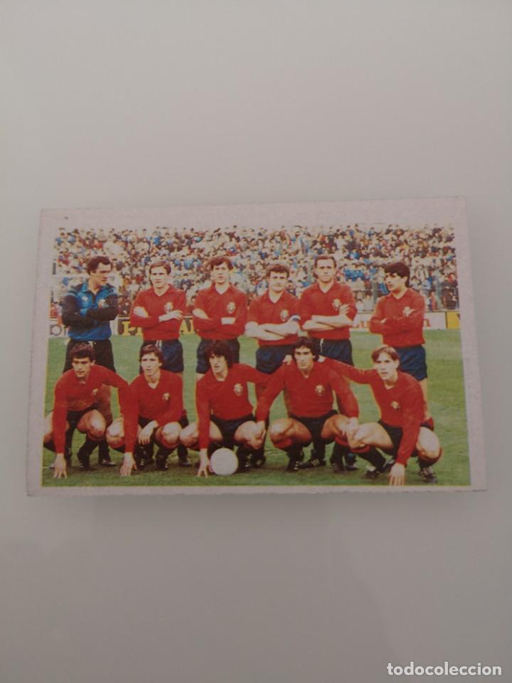 OSASUNA ALINEACIÓN LIGA 1983 1984 CANO CROPAN SIN PEGAR (Coleccionismo Deportivo - Álbumes y Cromos de Deportes - Cromos de Fútbol)