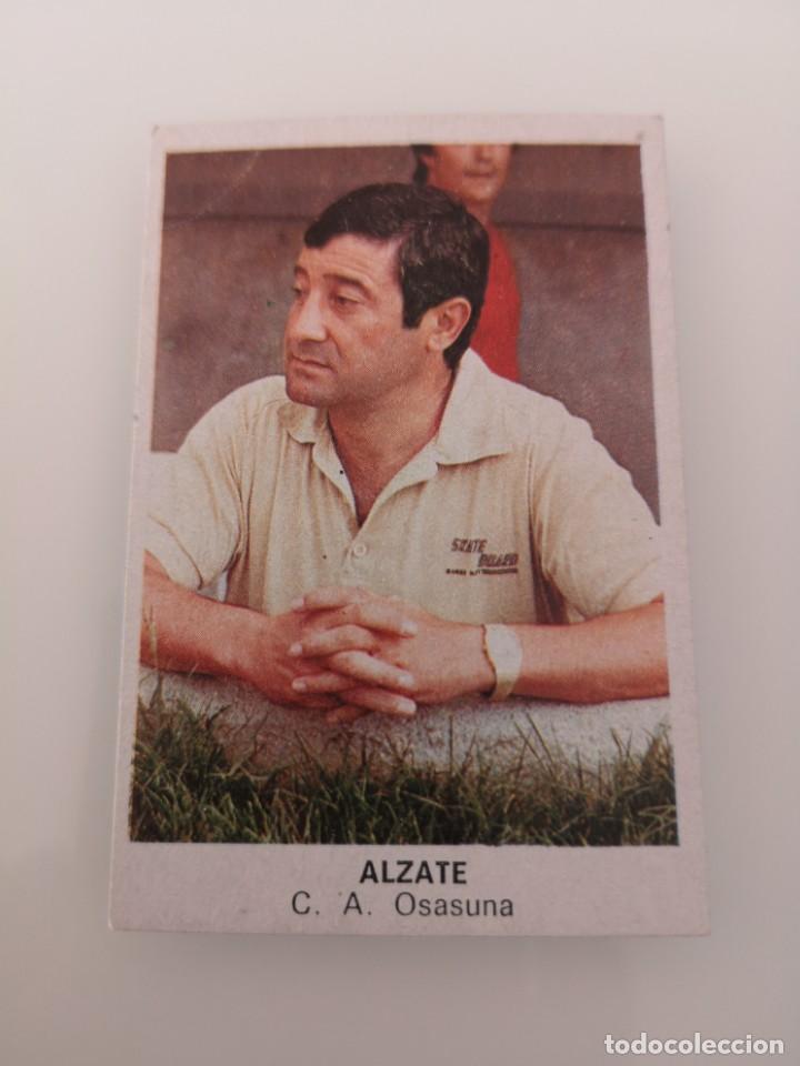 ALZATE OSASUNA LIGA 1983 1984 CANO CROPAN SIN PEGAR (Coleccionismo Deportivo - Álbumes y Cromos de Deportes - Cromos de Fútbol)