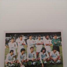 Cromos de Fútbol: VALENCIA ALINEACIÓN LIGA 1983 1984 CANO CROPAN SIN PEGAR . Lote 168029412
