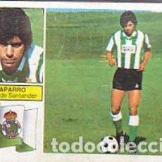 Cromos de Fútbol: CROMO FUTBOL CHAPARRO FICHAJE 28 BIS EDICIONES ESTE 82-83. Lote 168064636