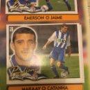 Cromos de Fútbol: ESTE 00 01 2000 2001 DEPORTIVO CORUÑA VENTANILLA PANDIANI COLOCA. Lote 168233578