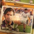 Cromos de Fútbol: ESTE 00 01 2000 2001 REAL MADRID VENTANILLA FIGO COLOCA. Lote 168233937