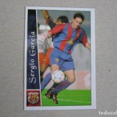 Cromos de Fútbol: MUNDICROMO FICHAS LIGA 2003 2002 FICHAJE + III Nº 636 SERGIO GARCIA BARCELONA 02 03 NUEVO. Lote 194621820