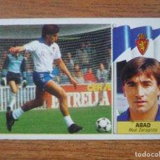 Cromos de Fútbol: CROMO ALBUM LIGA ESTE 86 87 ABAD (ZARAGOZA) COLOCA - NUNCA PEGADO - 1986 1987. Lote 168282088