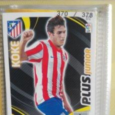 Cromos de Fútbol: ADRENALYN XL 2011 2012 11 12 PANINI ATLETICO DE MADRID KOKE PLUS JUNIOR. Lote 168293180