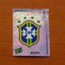 Cromos de Fútbol: BRASIL - 170 ESCUDO - MUNDIAL KOREA JAPÓN 2002 - EDITORIAL PANINI - NUNCA PEGADO. Lote 168331949