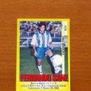 Cromos de Fútbol: MÁLAGA - 309A FERNANDO SANZ - EDITORIAL PANINI 1999-2000, 99-00 - NUNCA PEGADO. Lote 168332156