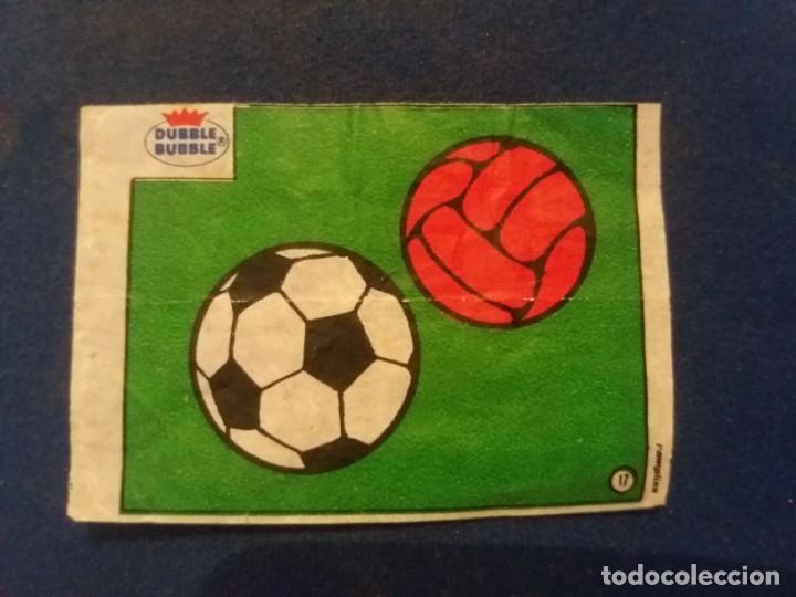 DUBBLE BUBBLE FUTBOL MUNDIAL BALÓN NÚMERO 17 (Coleccionismo Deportivo - Álbumes y Cromos de Deportes - Cromos de Fútbol)
