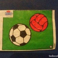 Cromos de Fútbol: DUBBLE BUBBLE FUTBOL MUNDIAL BALÓN NÚMERO 17 . Lote 168396580