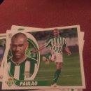 Cromos de Fútbol: ESTE 2012 2013 12 13 SIN PEGAR BETIS PAULAO. Lote 168400748