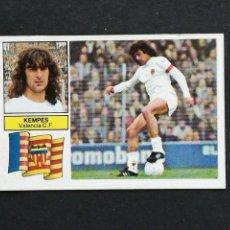 Cromos de Fútbol: #UF10 ULTIMO FICHAJE 10 KEMPES VALENCIA ESTE 1982 1983 82 83 DESPEGADO. Lote 118950767