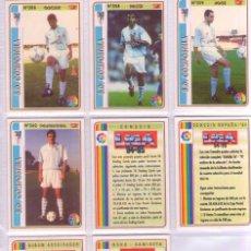 Cromos de Fútbol: FÚTBOL CROMO BONO CAMISETA MUNDICROMO 1994 1995 SE VENDEN SUELTOS. Lote 168588644