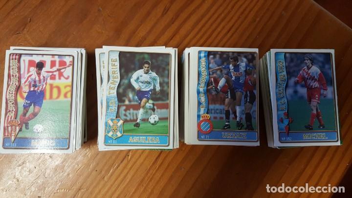 LOTE DE 398 CARDS DE LAS FICHAS DE LA LIGA 96/97, MUNDICROMO SPORT. INCLUYE BAJAS, ULTIMA HORA ETC. (Coleccionismo Deportivo - Álbumes y Cromos de Deportes - Cromos de Fútbol)