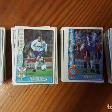 Cromos de Fútbol: LOTE DE 398 CARDS DE LAS FICHAS DE LA LIGA 96/97, MUNDICROMO SPORT. INCLUYE BAJAS, ULTIMA HORA ETC.. Lote 168617276