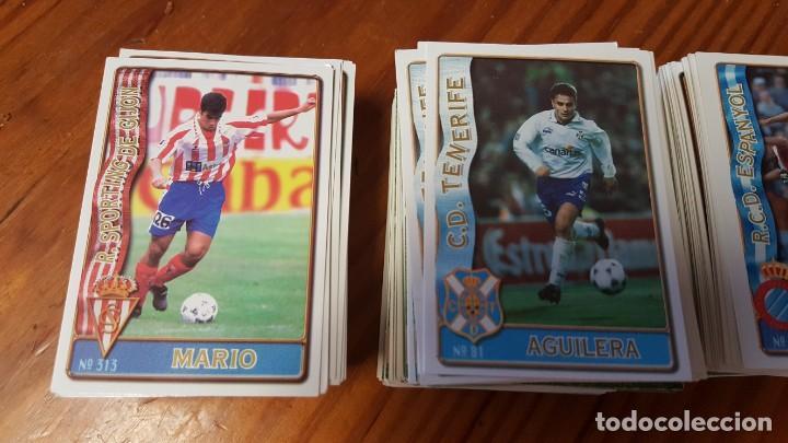 Cromos de Fútbol: Lote de 398 cards de LAS FICHAS DE LA LIGA 96/97, mundicromo sport. INCLUYE BAJAS, ULTIMA HORA ETC. - Foto 2 - 168617276