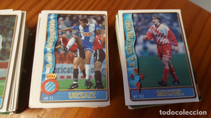 Cromos de Fútbol: Lote de 398 cards de LAS FICHAS DE LA LIGA 96/97, mundicromo sport. INCLUYE BAJAS, ULTIMA HORA ETC. - Foto 3 - 168617276
