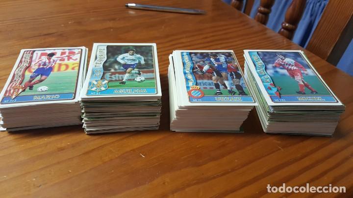 Cromos de Fútbol: Lote de 398 cards de LAS FICHAS DE LA LIGA 96/97, mundicromo sport. INCLUYE BAJAS, ULTIMA HORA ETC. - Foto 4 - 168617276