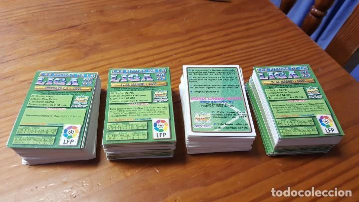 Cromos de Fútbol: Lote de 398 cards de LAS FICHAS DE LA LIGA 96/97, mundicromo sport. INCLUYE BAJAS, ULTIMA HORA ETC. - Foto 5 - 168617276