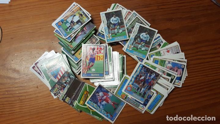 Cromos de Fútbol: Lote de 398 cards de LAS FICHAS DE LA LIGA 96/97, mundicromo sport. INCLUYE BAJAS, ULTIMA HORA ETC. - Foto 6 - 168617276