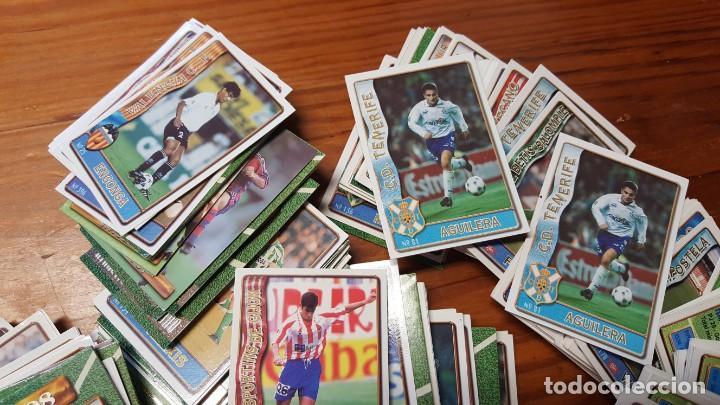 Cromos de Fútbol: Lote de 398 cards de LAS FICHAS DE LA LIGA 96/97, mundicromo sport. INCLUYE BAJAS, ULTIMA HORA ETC. - Foto 7 - 168617276