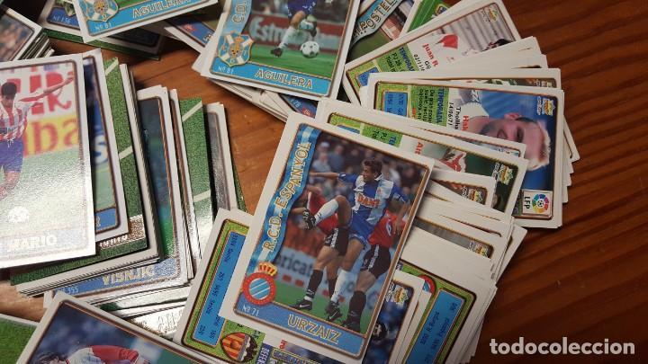 Cromos de Fútbol: Lote de 398 cards de LAS FICHAS DE LA LIGA 96/97, mundicromo sport. INCLUYE BAJAS, ULTIMA HORA ETC. - Foto 8 - 168617276