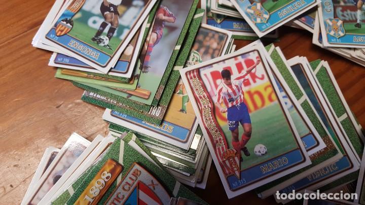 Cromos de Fútbol: Lote de 398 cards de LAS FICHAS DE LA LIGA 96/97, mundicromo sport. INCLUYE BAJAS, ULTIMA HORA ETC. - Foto 9 - 168617276