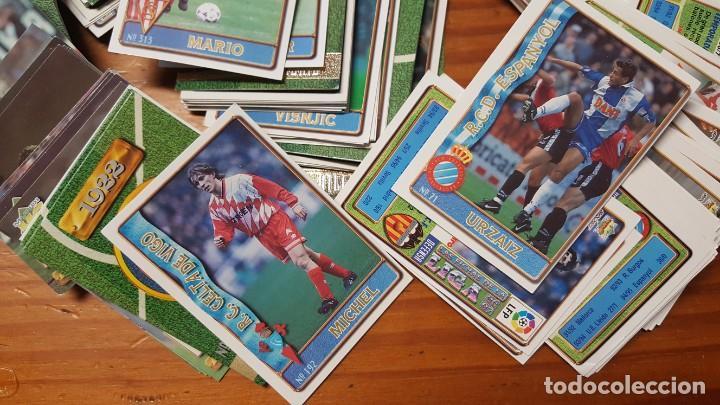 Cromos de Fútbol: Lote de 398 cards de LAS FICHAS DE LA LIGA 96/97, mundicromo sport. INCLUYE BAJAS, ULTIMA HORA ETC. - Foto 10 - 168617276