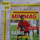 Cromos de Fútbol: MINI REVISTA DE LA LIGA MINIMAG. JUGADOR RCD MALLORCA. RAMIS. 2006 2007. Lote 168645836