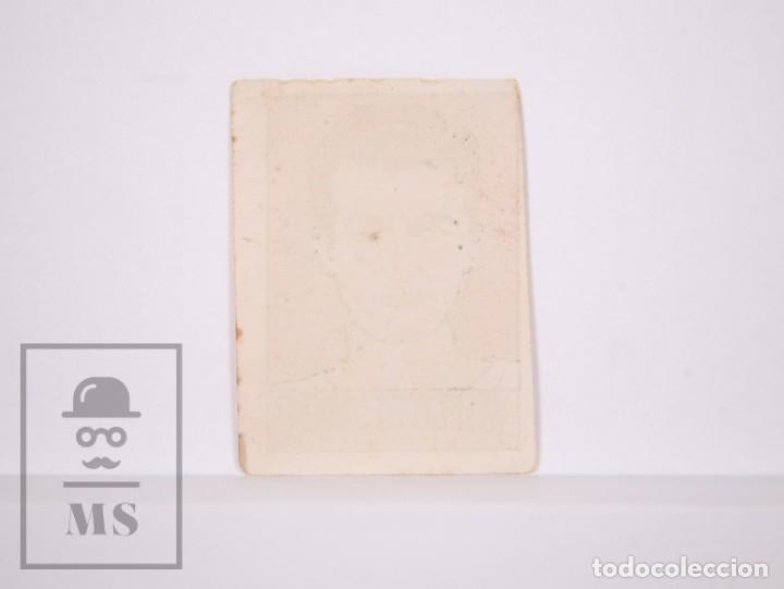 Cromos de Fútbol: Cromo Fútbol - Álbum Cultura Deportes Bruguera - Valencia C.F - Iturraspe - Año 1942 - - Foto 2 - 168689085