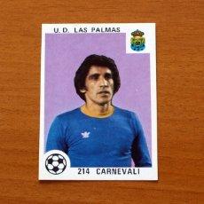 Cromos de Fútbol: LAS PALMAS - 214 CARNEVALI - EDITORIAL MAGA 1978-1979, 78-79 - NUNCA PEGADO. Lote 168778612