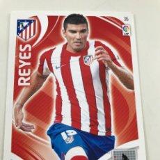 Cromos de Fútbol: CROMO Nº36 REYES - ATLETICO DE MADRID - ADRENALYN PANINI 2011 2012. Lote 168801156