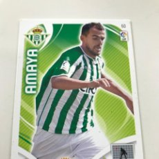 Cromos de Fútbol: CROMO Nº60 AMAYA - REAL BETIS - ADRENALYN PANINI 2011 2012. Lote 168802420