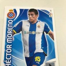 Cromos de Fútbol: CROMO Nº78 HECTOR MORENO - RCD ESPANYOL- ADRENALYN PANINI 2011 2012. Lote 168803688