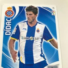 Cromos de Fútbol: CROMO Nº79 DIDAC - RCD ESPANYOL- ADRENALYN PANINI 2011 2012. Lote 168803716