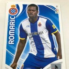 Cromos de Fútbol: CROMO Nº81 ROMARIC - RCD ESPANYOL- ADRENALYN PANINI 2011 2012. Lote 168803840