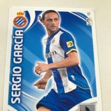 Cromos de Fútbol: CROMO Nº87 SERGIO GARCIA - RCD ESPANYOL- ADRENALYN PANINI 2011 2012. Lote 168803948