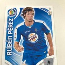 Cromos de Fútbol: CROMO Nº99 RUBEN PEREZ - GETAFE CF - ADRENALYN PANINI 2011 2012. Lote 168804152