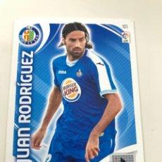 Cromos de Fútbol: CROMO Nº101 JUAN RODRIGUEZ - GETAFE CF - ADRENALYN PANINI 2011 2012. Lote 168804200