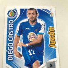Cromos de Fútbol: CROMO Nº104 JUGON DIEGO CASTRO - GETAFE CF - ADRENALYN PANINI 2011 2012. Lote 168804380