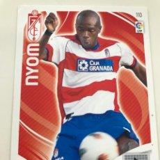 Cromos de Fútbol: CROMO Nº110 NYOM - GRANADA CF- ADRENALYN PANINI 2011 2012. Lote 168805120