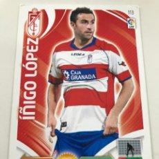 Cromos de Fútbol: CROMO Nº113 IÑIGO LOPEZ - GRANADA CF - ADRENALYN PANINI 2011 2012. Lote 168805204