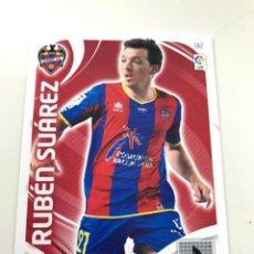 Cromos de Fútbol: CROMO Nº142 RUBEN SUAREZ - LEVANTE UD - ADRENALYN PANINI 2011 2012. Lote 168805704