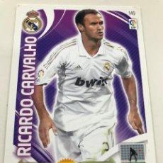 Cromos de Fútbol: CROMO Nº149 RICARDO CARVALHO - REAL MADRID - ADRENALYN PANINI 2011 2012. Lote 168806692