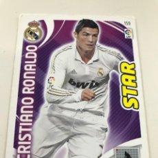 Cromos de Fútbol: CROMO Nº159 STAR CRISTIANO RONALDO - REAL MADRID - ADRENALYN PANINI 2011 2012. Lote 168806892