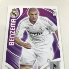 Cromos de Fútbol: CROMO Nº160 BENZEMA - REAL MADRID - ADRENALYN PANINI 2011 2012. Lote 168806936