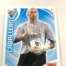 Cromos de Fútbol: CROMO Nº163 CABALLERO - MALAGA CF - ADRENALYN PANINI 2011 2012. Lote 168806988