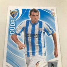 Cromos de Fútbol: CROMO Nº172 DUDA - MALAGA CF - ADRENALYN PANINI 2011 2012. Lote 168807340